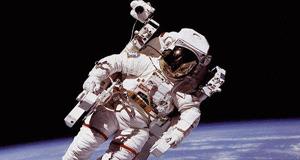 Astronot'un başlığı su sızdırıyor