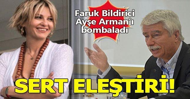 Ayşe Arman'a büyük eleştiri!