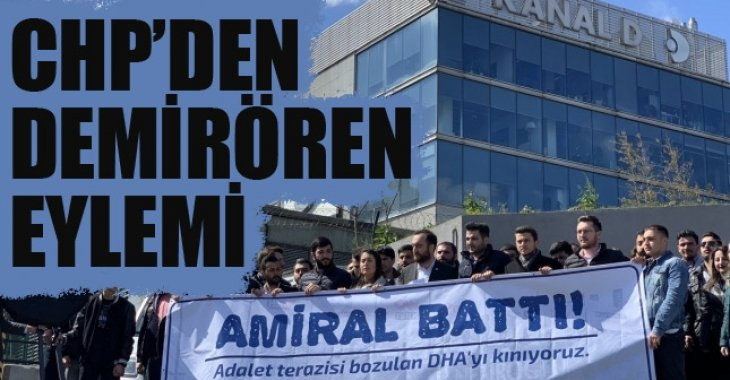 CHP'den Demirören Medya protestosu