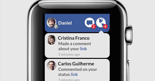 Facebook neden Apple Watch'ta yok?