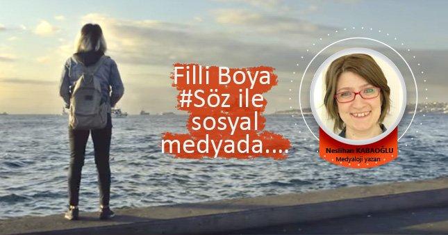 Filli Boya #Söz ile Sosyal Medyada.…