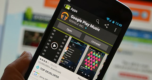 Google Play'de yenilik