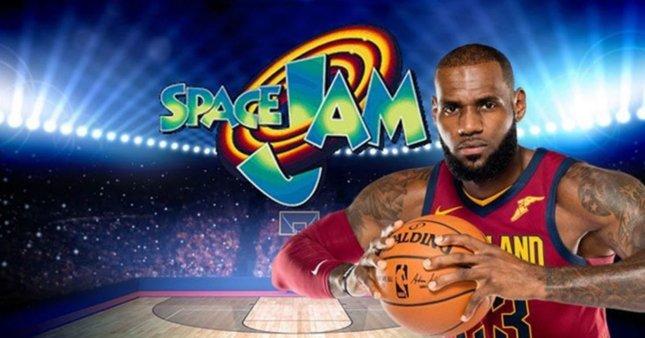 LeBron James, Space Jam 2'de rol alacak