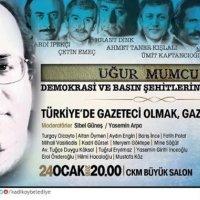4.Türkiye'de Gazeteci Olmak-Gazeteci Ölmek etkinliği 24 Ocak'ta yapılacak