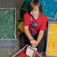 6 yaşında Lego'dan iş istedi