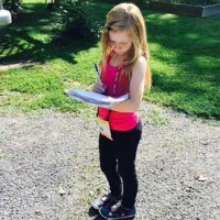 9 yaşındaki küçük muhabir