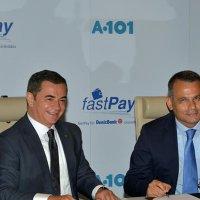 A101 ve fastPay'dan iş birliği