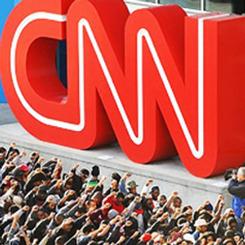 ABD'de CNN'in yayın politikası protesto edildi
