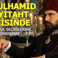 """Abdülhamid Payitaht'da """"İstanbul seçimlerine gönderme"""" olarak yorumlanan sahne"""