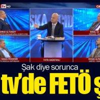 Akit TV sunucusunun FETÖ sorusuyla şaşkına dönmesi!
