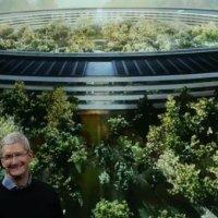 Apple Park ziyarete açıldı