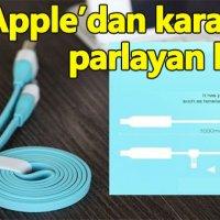 Apple karanlıkta parlayan kablo üretmek için patent aldı