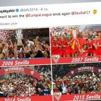 Başakşehir ile Sevilla atışması sosyal medyayı salladı
