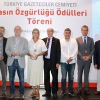 Basın Özgürlüğü Ödülleri sahiplerini buldu