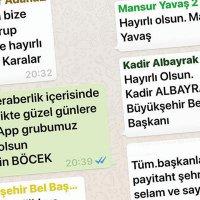 Belediye başkanları WhatsApp'ta ne yazıyor?