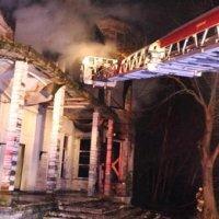 Beykoz'da dizilerin çekildiği köşkte yangın