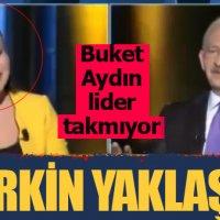 Buket Aydın'dan Kılıçdaroğlu karşısında tepki çeken kahkaha!