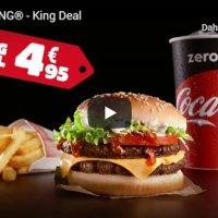 """Burger King'den """"açıksözlü"""" reklam"""