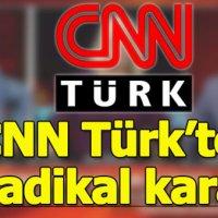 CNN Türk'te yayın çizgisi değişiyor