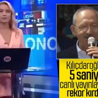 CNN Türk'ün Kemal Kılıçdaroğlu'nun konuşmasını 5 saniye yayınlaması