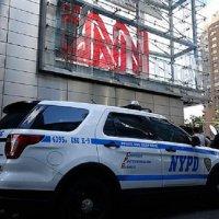 CNN ofisinde bomba alarmı!