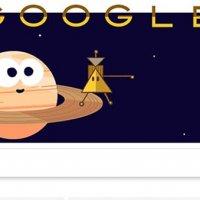 Cassini Uzay Aracı Doodle oldu