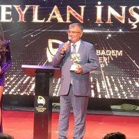 Ceylan İnşaat 'Yılın Kurumsal Şirketi' ödülünün sahibi oldu