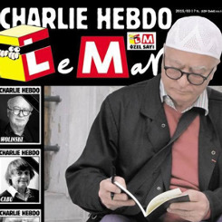 Charlie Hebdo'ya saygı duruşu