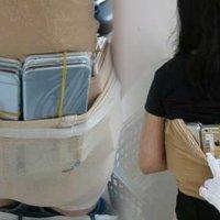 Çinli kadın 102 iPhone'u vücuduna zulaladı