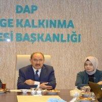 DAP Bölgesi Kalkınma ajanslarıyla işbirliği toplantısı!