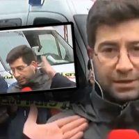 DHA muhabirini canlı yayında tekme tokat dövdüler!