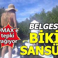 DMAX kanalının bikinili kadınlara ilginç sansürlemesi