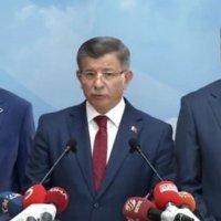 Davutoğlu AKP'den istifasını açıkladı!