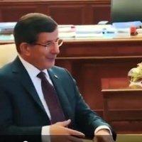 Dikkat çeken Davutoğlu videosu