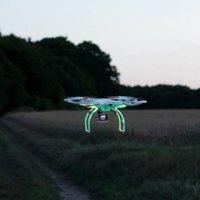 Drone ile kayıp çocuk bulundu