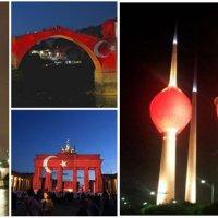 Dünyadan Türkiye'ye anlamlı destek
