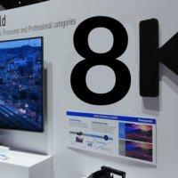 Dünyanın ilk 8K televizyonu geliyor