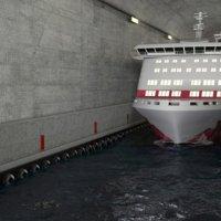 Dünyanın ilk gemi tüneli projesi