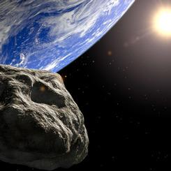 Yerleşim yerlerinin dışına düşen asteroidlerin nükleer bomba ile aynı güçte olduğu öğrenildi