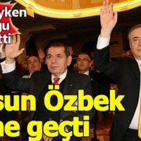 Dursun Özbek Galatasaray tarihine geçti