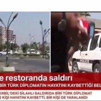 Erbil'de Türk diplomatlara saldırı: Şehitler var
