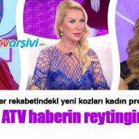 Esra Erol, ATV haberin reytingini arttırdı