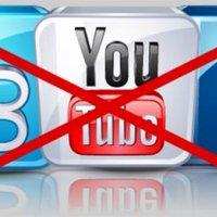 Facebook, Twitter ve Youtube engellendi