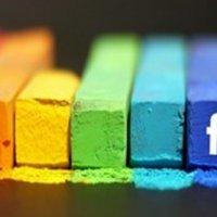 Facebook durumları renkleniyor!