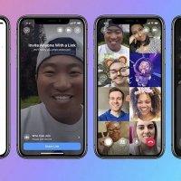 Facebook'un grup görüntülü sohbet özelliği devrede
