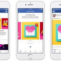 Facebook özel tasarım kartlarıyla Sevgililer Günü'ne hazır