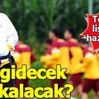 Fatih Terim iki oyuncunun kalmasını istiyor