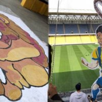 Fenerbahçe'nin derbi koreografisi