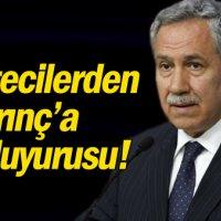 Gazetecilerden Arınç'a suç duyurusu