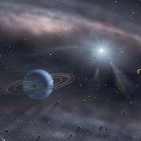 Gezegen yutan yıldız keşfedildi